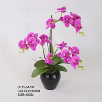 Cheap Wholesale Silk Artificial Orchid Flower for Decor