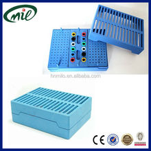 156 holes dental autoclave sterilization endo box endo file box plastic sterilization box