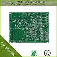 best selling pcb fabrication price quotation sample pcb gsm antenna pcb fix board