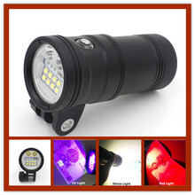 Powerful Cree XM-L L2 LED diving flashlight 5000 Lumens