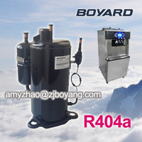 Boyard R404a Refrigerant hermetic rotary Compressor for condensing unit freezer rooms