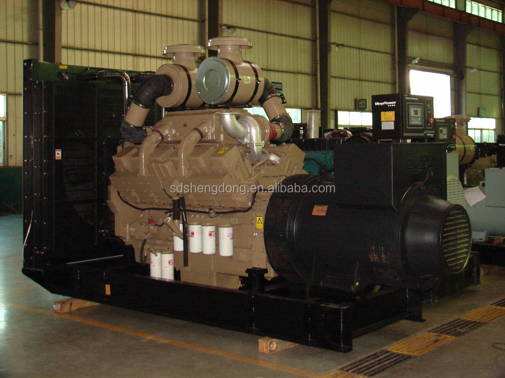 Marine engine brand diesel generating set 24kw-2 by SD company