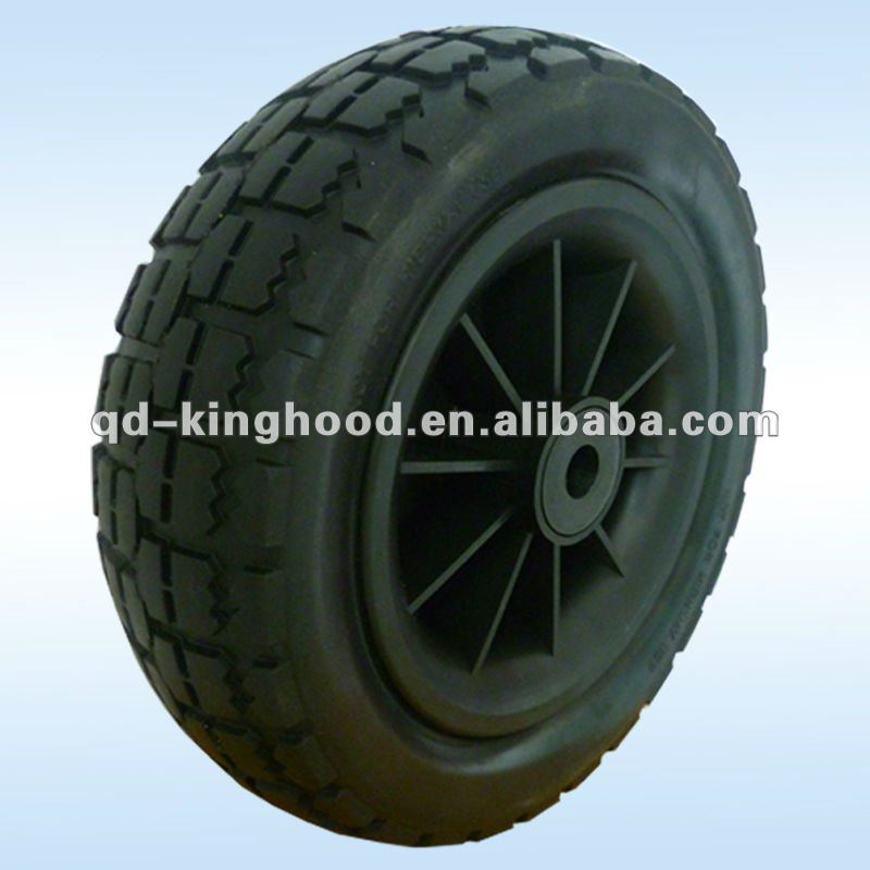 Pu polyurethane foam tire wheel 3.50-6