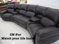 CN-Fur : Sofa Recliner 4 Seat with Ice Box