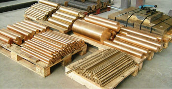 Copper alloy and bronze round bars and tubes
