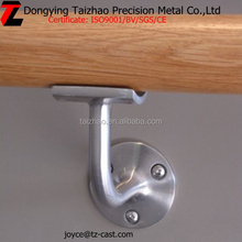 Decorative indoor stair stainless steel handrail bracket railings, stainless steel handrail bracket