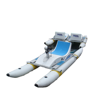 Floating Water Bike Inflatable Pedal Water Bike for sale