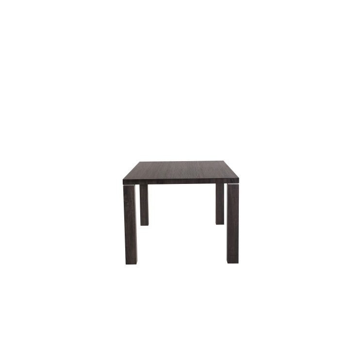Quality mdf top hotel dining table half moon dinning set modern