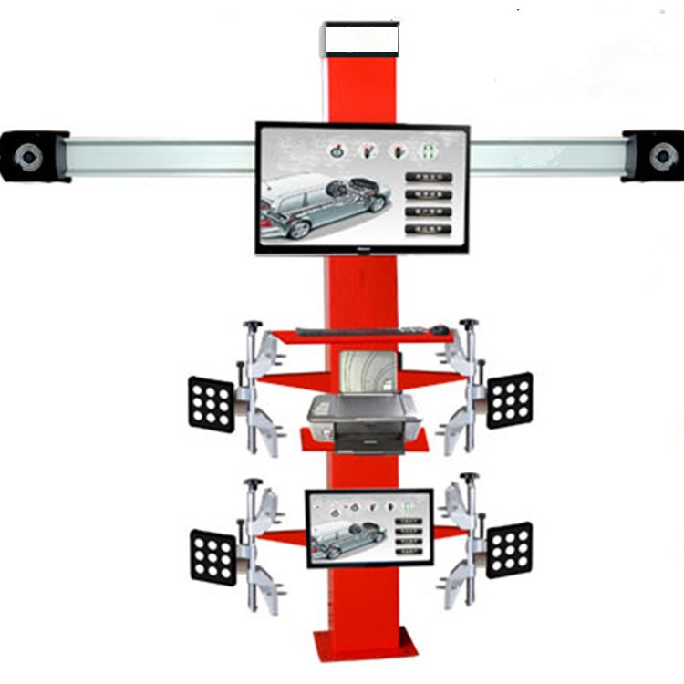 2017 fits all kinds of car 3d wheel alignment equipment/wheel alignment and balancing machine