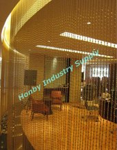 Decorative Metal Ball Chain Curtain, Bar Ball Type