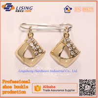 ladies High-heels shoe upper rhinestones accessoeries for women shoes decoration in Fujian Jinjiang