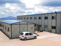 Cheap Fast Installation Waterproof Prefabricated Steel Frame House For Sale
