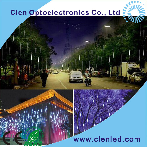 CE ROHS led meteor light/led meteor lamp/led meteor tube