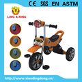 simple children tricycle with musical and flashing head and CP wheels 2017 new product new baby tricycle