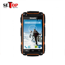 Best Outdoor 3G Dual SIM Rugged Android 4.2 Orange Discovery V8 Waterproof IP67 Mobile Cell Phone