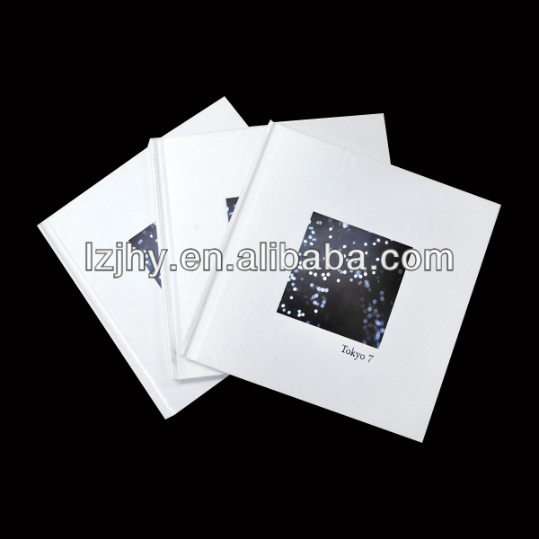 hardcover photo album about city impression