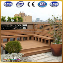 environmental wpc outdoor decking tile/in spain wpc decking floor