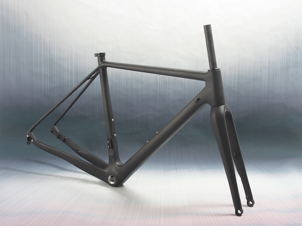 Toray cyclocross carbon fiber frame 142*12 carbon road bike cyclocross carbon frameset