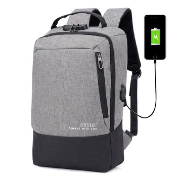 Anti Theft USB Charging Back Pack Backpack Notebook Bags Business Laptop Backpack