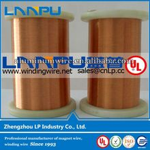 High Resistance enamelled 0.02mm copper wire