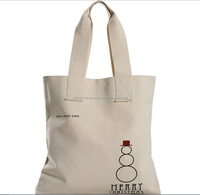 12 oz Canvas tote bags with custom logo and color from china factory