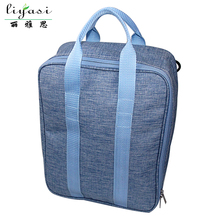Fashion Hand Take Printing Snowflake Oxford Fabric Travel Luggage Bag Men Duffel Travel Bags Factory.