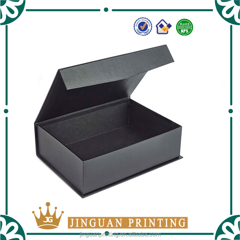 Professional printing magnetic closure high quality cardboard paper packaging bible box