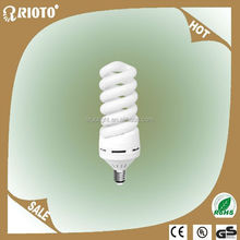 8000H 100% tri-color Spiral 80W CFL lamp Light bulb