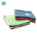 300gsm thickness microfibre yoga mat towel for fitness