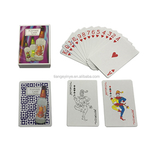 Customized Animal Printing Paper Playing Card