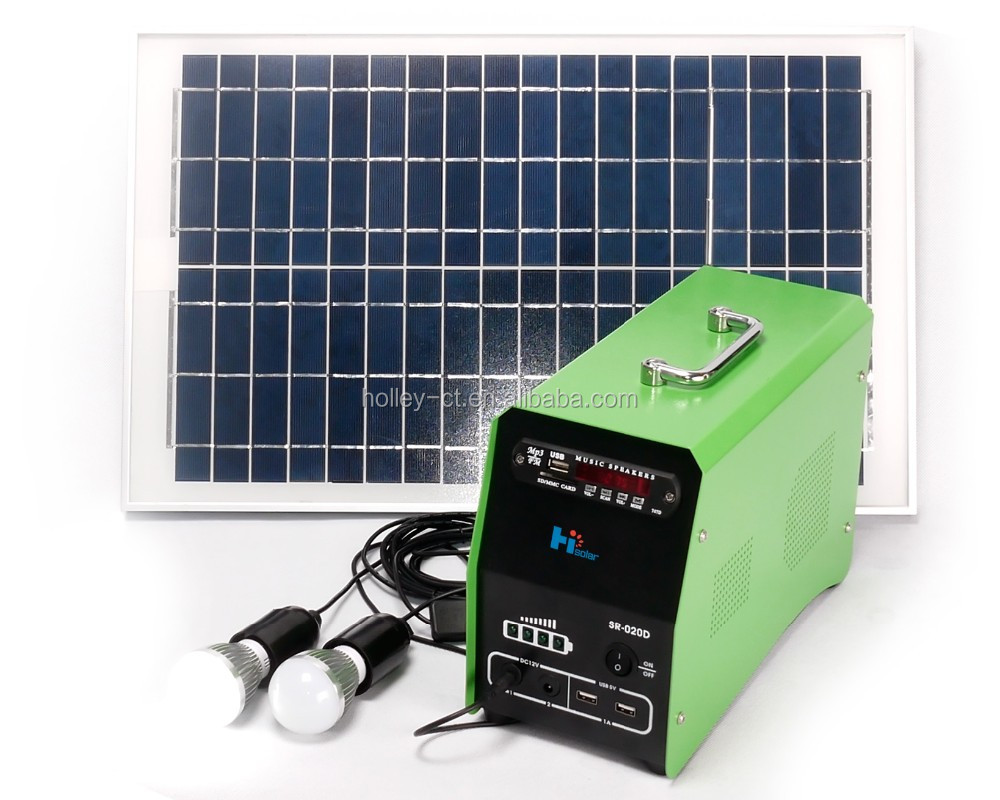Home Solar lighting Kit, energy resource,green energy ,20W
