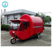 stainless steel street vending cart mobile food cart hot dog food truck