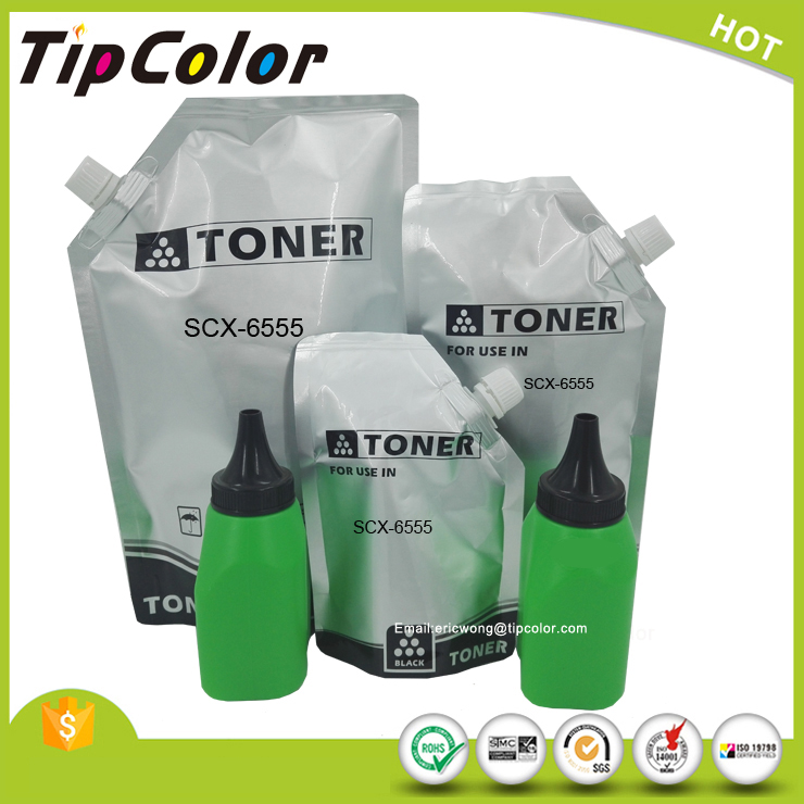 black laser toner powder compatible Samsung SCX-6345 6545 6555