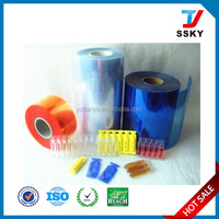 100% new material stable quality suppository pvc/pe film