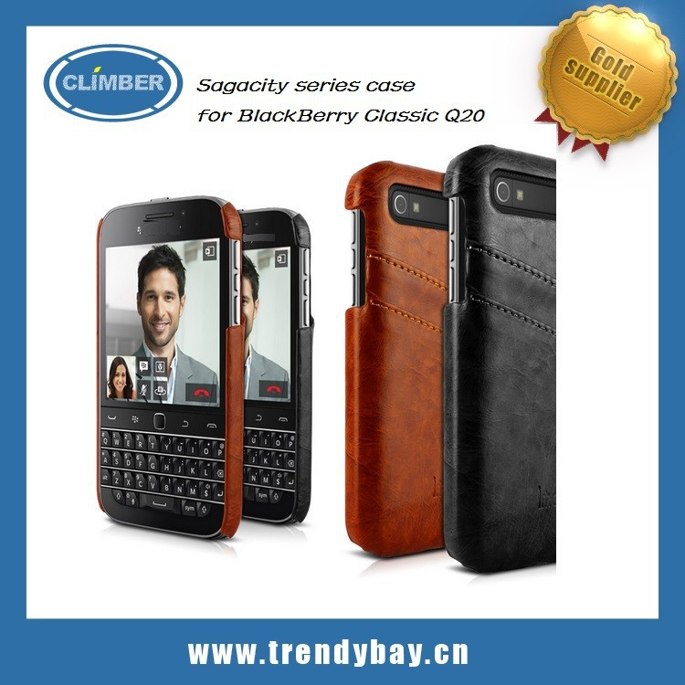 Imak brand Sagacity series case cover for BlackBerry Classic Q20