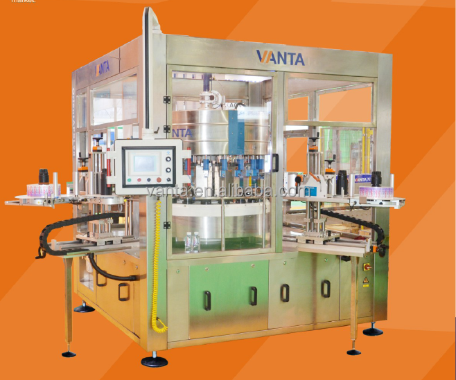 Automatic Bottle Labeling Machine Labeller Self-Adhesive