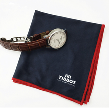 Custom logo printed Microfiber watch Cleaning Cloth