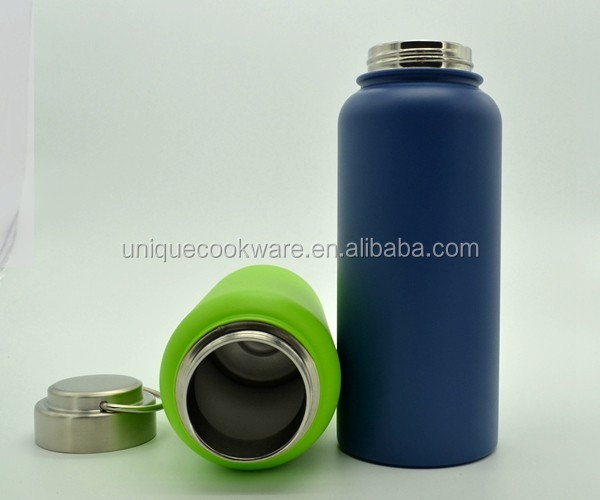 Unique Group Color High Quaity Stainless Steel Lid 32-Ounce Stainless Steel Wide Mouth Insulated Vacuum water bottle