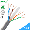 PFT factory best price network cable wholesale blue or grey copper with UL 23AWG UTP Cat 6 lan cable