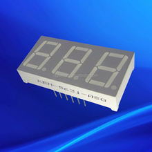gray surface 0.56 inch 3 digits 7 segment LED display 0.56""