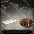 Wholesale clear house shape acrylic chocolate candy box