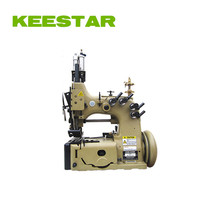 Keestar double needle 80700CD4HL chain stitch FIBC/Jumbo/container bag sewing machine