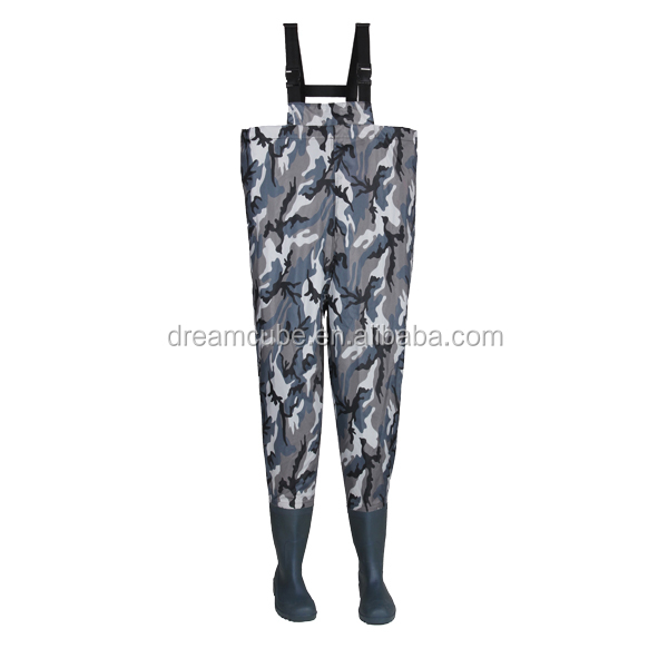 2016 New comfortable Hunting wader, Navy camouflage Hunting Wader