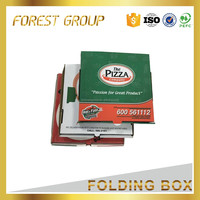 Factory price folding paper pizza slice box food delivery packaging box