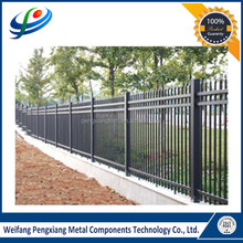 Spear top security aluminum and steel fencing supplies