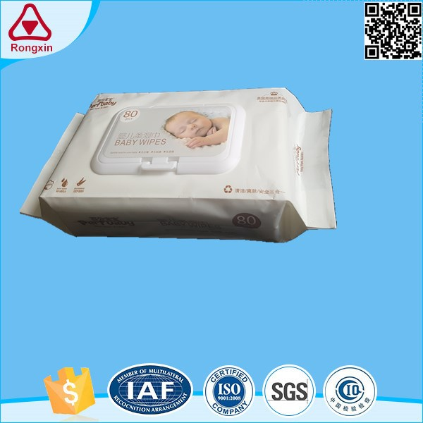 China Factory Welcome Oem Facial Wet Wipe Tissue