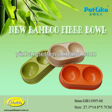 2015 New best sales practical bambool pet products/pet bowl