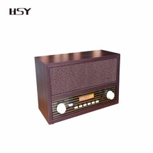 cheapest retro FMAM clock radio with screen headphone jack for home