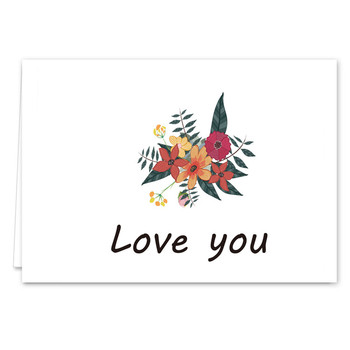 Chinese Manufacturers Custom Printing Love You Thanksgiving Greetings Cards For Mom