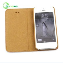 High class genuine leather flip cover mobile phone case for IPhone 5,5s,5g